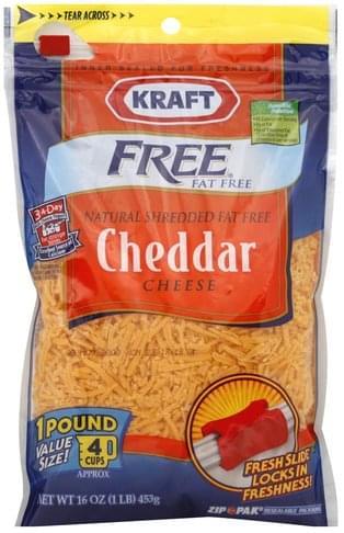 Kraft Cheddar Shredded Cheese - 16 oz