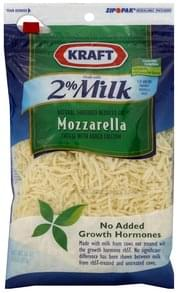 Kraft Shredded Cheese Reduced Fat Mozzarella