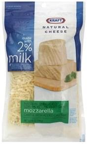 Kraft Shredded Cheese Mozzarella