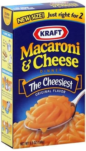 Kraft Original Flavor Macaroni & Cheese