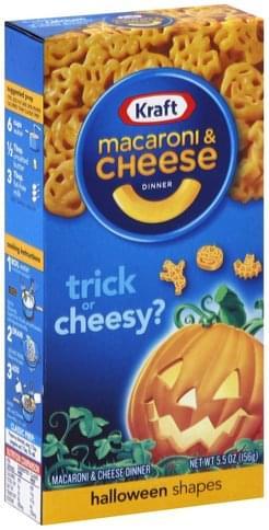 Kraft Halloween Shapes Macaroni & Cheese Dinner - 5.5 oz