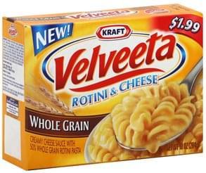 Velveeta Rotini & Cheese Whole Grain