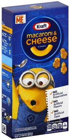 Kraft Despicable Me Macaroni & Cheese Dinner - 5.5 oz