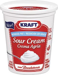 Kraft Sour Cream Reduced Fat