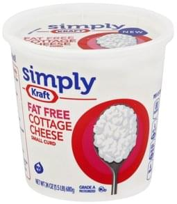 Kraft Cottage Cheese Small Curd, Fat Free