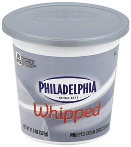 Philadelphia Cream Cheese Spread Whipped