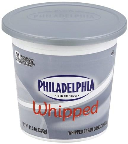 Philadelphia Whipped Cream Cheese Spread - 11.5 oz