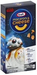 Kraft Macaroni & Cheese Dinner Disney Star Wars