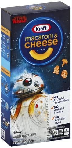 Kraft Disney Star Wars Macaroni & Cheese Dinner - 5.5 oz
