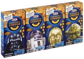 Kraft Macaroni & Cheese Dinner Star Wars Shapes