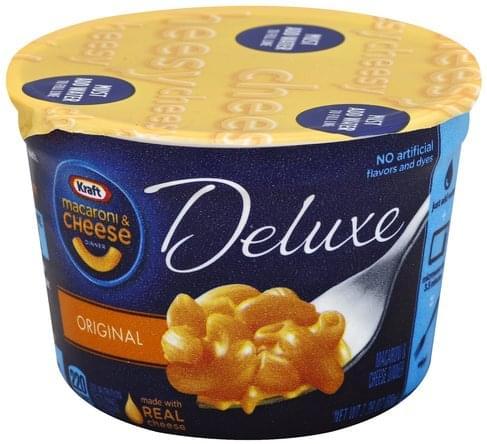 Kraft Dinner, Deluxe, Original Macaroni