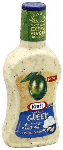 Kraft Creamy, Greek Dressing - 14 oz