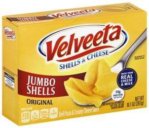 Velveeta Shells & Cheese Jumbo Shells, Original
