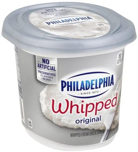 Philadelphia Whipped, Original Cream Cheese Spread - 12 oz