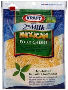 Kraft Shredded Cheese Mexican Style Four Cheese