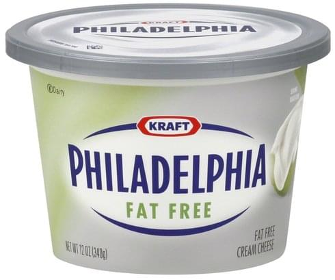 Philadelphia Fat Free Cream Cheese - 12 oz