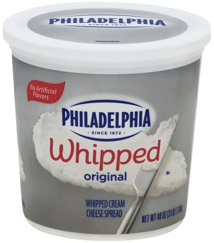 Philadelphia Original, Whipped Cream Cheese Spread - 48 oz