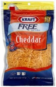 Kraft Shredded Cheese Cheddar