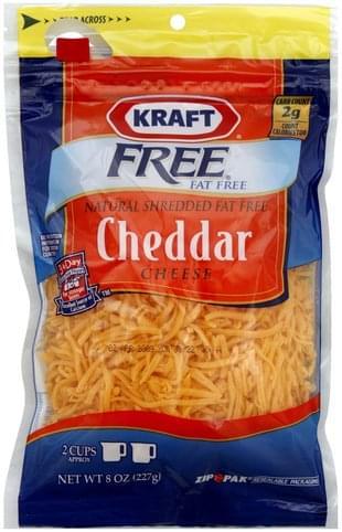 Kraft Cheddar Shredded Cheese - 8 oz