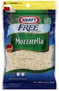 Kraft Shredded Cheese Mozzarella, Fat Free