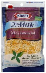 Kraft Cheese Colby & Monterey Jack