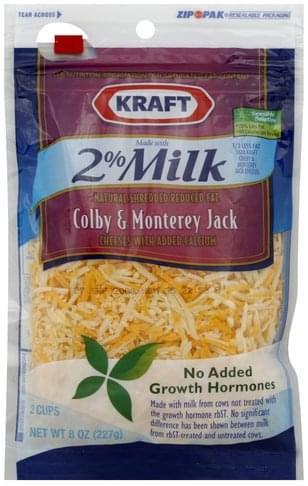 Kraft Colby & Monterey Jack Cheese - 8 oz