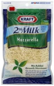 Kraft Shredded Cheese Reduced Fat, Mozzarella