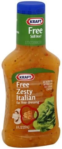 Kraft Fat Free, Zesty Italian Dressing