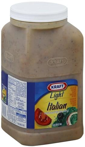 Reduced Fat, Light, Italian Dressing