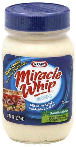 Miracle Whip Dressing - 8 oz, Nutrition