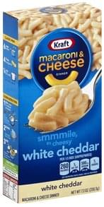 Kraft Macaroni & Cheese Dinner White Cheddar