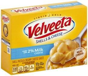 Velveeta Shell Pasta & Creamy Cheese Sauce