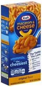 Kraft Macaroni & Cheese Dinner Original Flavor