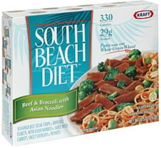 South Beach Diet Beef & broccoli with Asian Noodles Beef & Broccoli with Asian Style Noodles