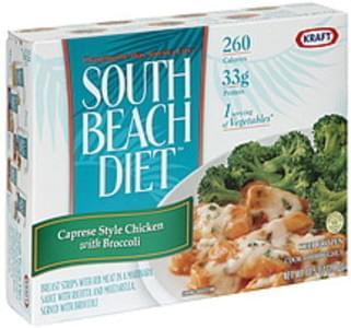 South Beach Diet Caprese Style Chicken with Broccoli & Cauliflower