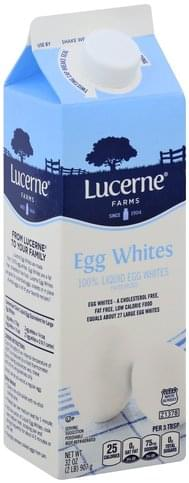 Lucerne Farms 100% Liquid Egg Whites - 32 oz