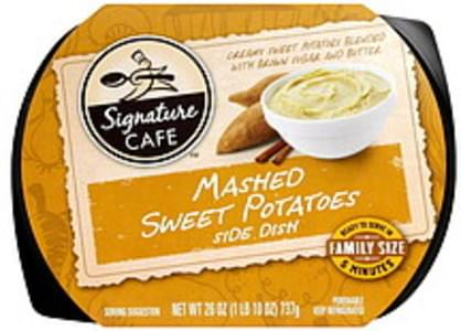 Signature Cafe Mashed Sweet Potatoes