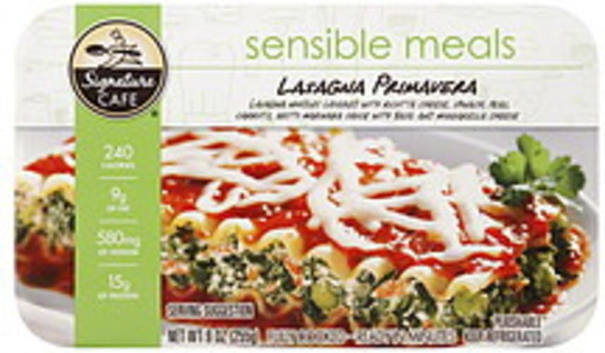 Signature Cafe Lasagna Primavera - 9 oz