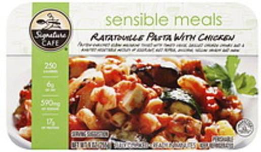 Signature Cafe Ratatouille Pasta with Chicken