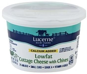 Lucerne Cottage Cheese with Chives, Lowfat