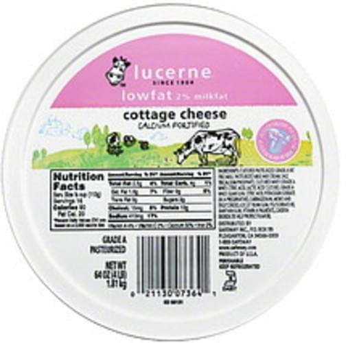Lucerne 2% Milkfat, Lowfat Cottage Cheese - 64 oz