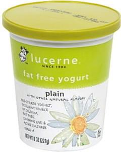 Lucerne Fat Free Yogurt Plain