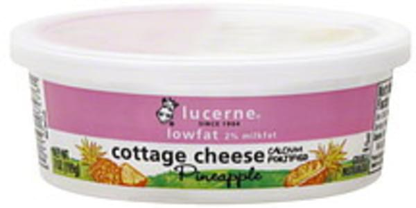 Lucerne Cottage Cheese Pineapple