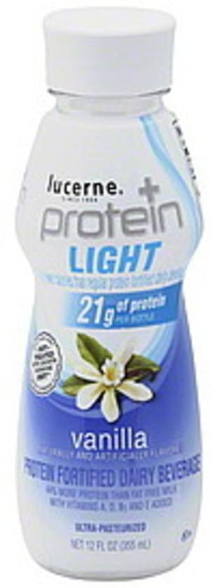 Lucerne Vanilla Fortified Dairy Beverage - 12 oz