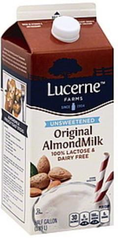 Lucerne Almondmilk Unsweetened, Original