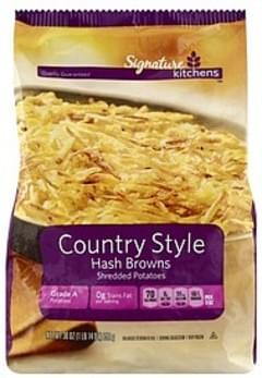 Signature Hash Browns Shredded Potatoes, Country Style