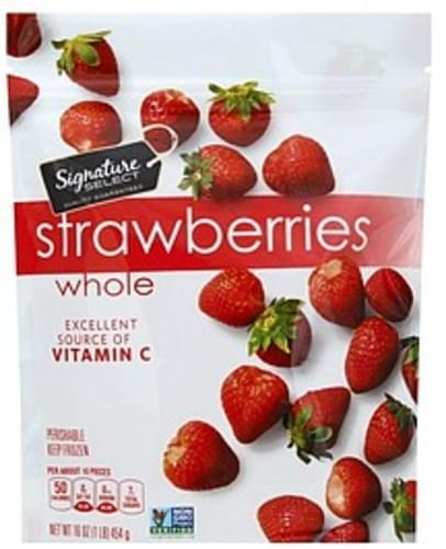 Signature Select Whole Strawberries - 16 oz