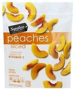 Signature Select Peaches Sliced