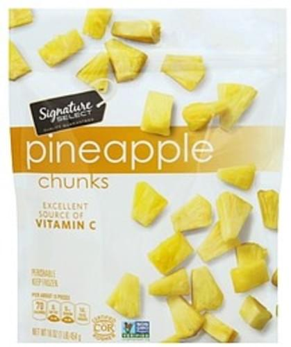 Signature Select Chunks Pineapple - 16 oz