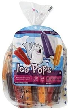 Signature Ice Pops Assorted Flavors